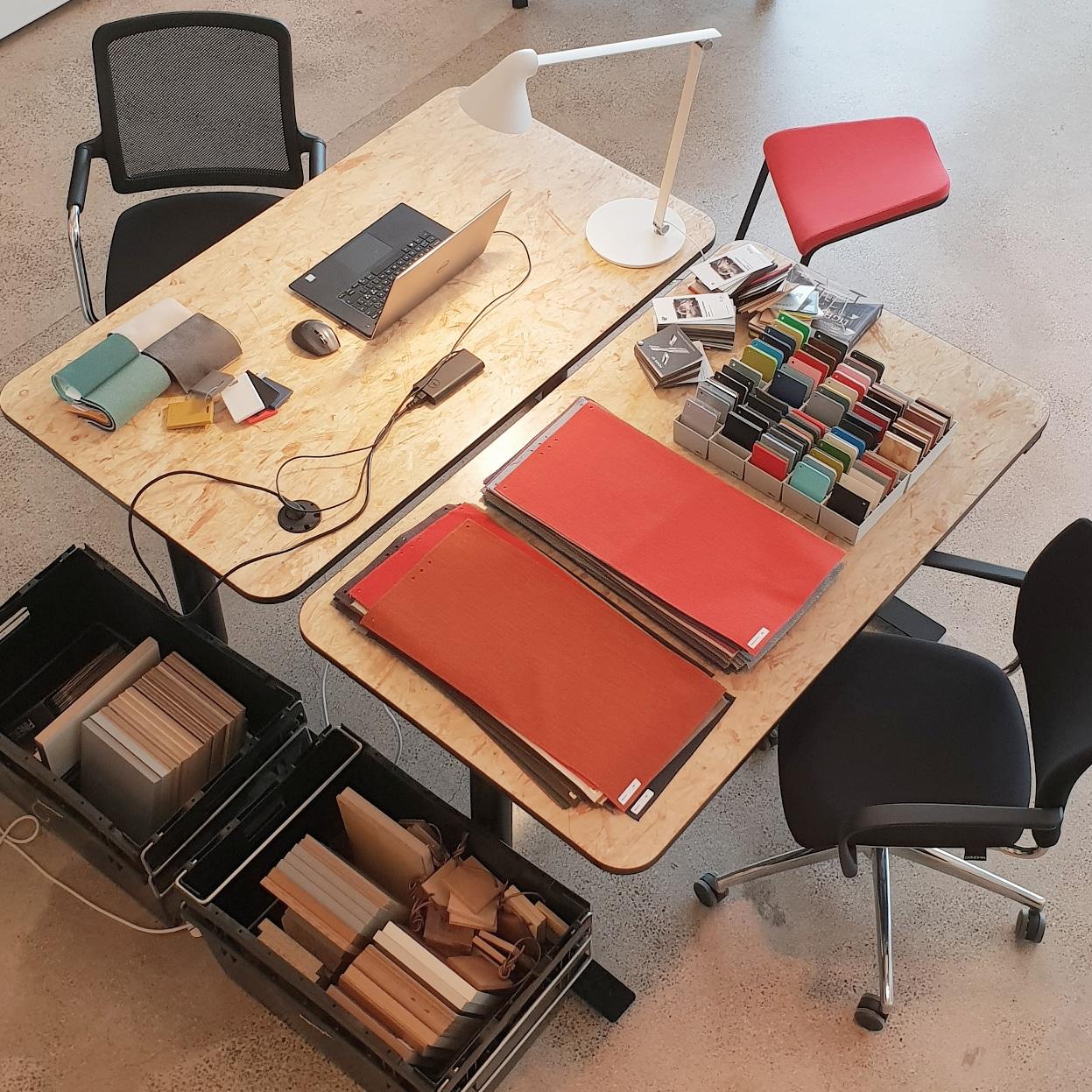 design proces indretning kreativ